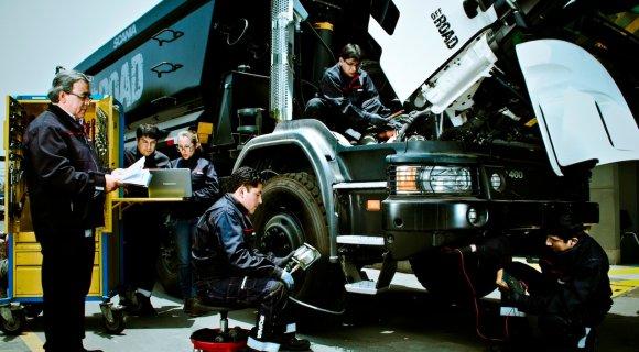 Автомеханик грузовых автомобилей, Польша, работа в Польше